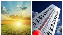 ЧУДЕСНА НОВИНА: Температурите скачат до 24 градуса, ще се редуват слънце и облаци