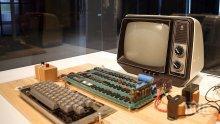 Продадоха рядък екземпляр от първия модел на компютрите Apple за 375 000 долара