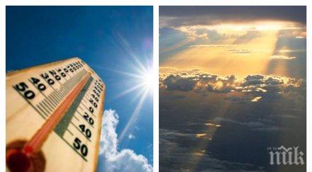 ЕСЕННИ КАПРИЗИ! Слънце и облаци ще се редуват днес, термометрите скачат до 25 градуса