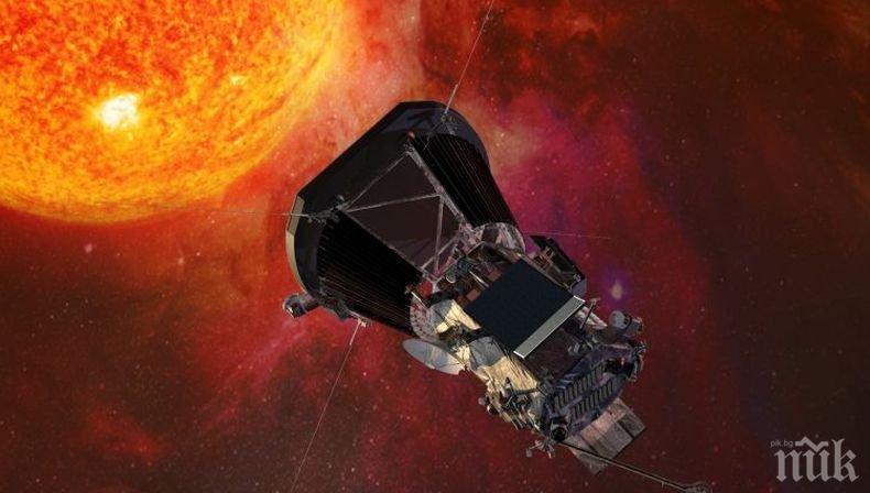 """Сондата """"Паркър"""" се отблъсна от Венера на път за Слънцето"""