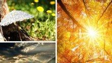 ЗЛАТНА ЕСЕН! Слънце и в последния ден от работната седмица, температурите стигат до 24 градуса