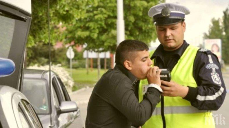 Хванаха мъртво пиян да шофира посред бял ден из Разград