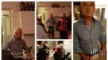 САМО В ПИК! Волен Сидеров се вихри в свиреп скандал с чужденци насред столичен ресторант (УНИКАЛНИ СНИМКИ)