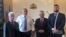 САМО В ПИК! Волен Сидеров и Николай Бареков на спешна среща при Бойко Борисов преди форума на консерваторите