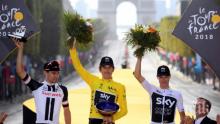 """Откраднаха трофея на шампиона в """"Тур дьо Франс"""""""