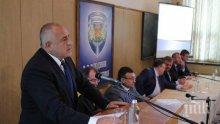 Борисов, Цацаров и Маринов на среща с посланиците заради истерията след убийството на Виктория