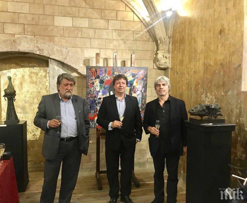 Фурор на изложбата на Вежди Рашидов и Николай Янакиев в Барселона