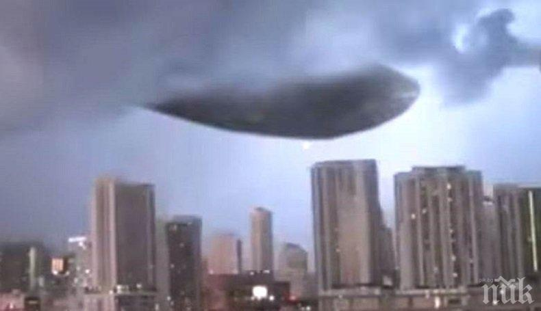 МИСТЕРИЯ! Извънземни пускат дронове над Флорида (ВИДЕО)