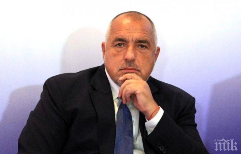 ДОСТОЙНО ОТ БОЙКО ДНЕС. Доказа, че е силен мъж, силен премиер, че милее за България. Време бе да размаха пръст на Брюксел