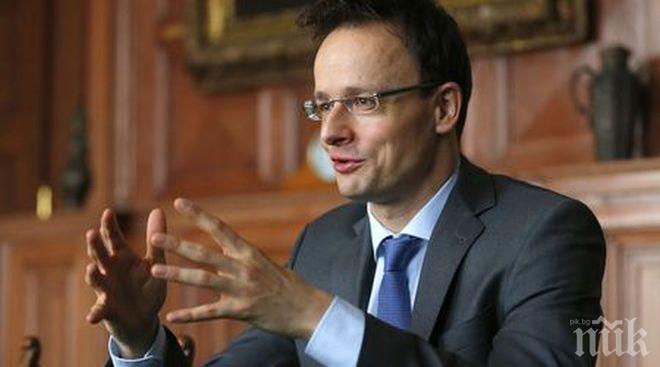 ЕКСКЛУЗИВНО! Унгарският външен министър Петър Сиярто: Търпението на Унгария към Сорос се изчерпва!