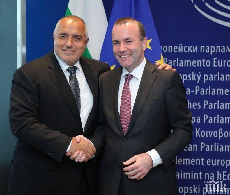ЕКСКЛУЗИВНО! Манфред Вебер с ключов коментар за България и отношенията си с Борисов