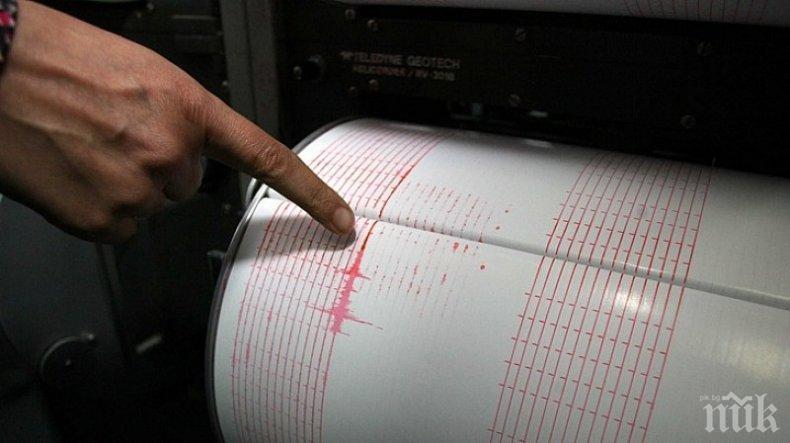Земетресение с магнитуд 6.7 по Рихтер бе регистрирано на Курилските острови