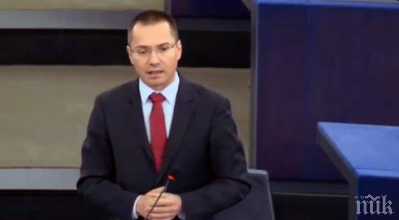 ИЗВЪНРЕДНО! Джамбазки към вицепрезидента на ЕК Тимерманс: Признайте, че станахте жертва на фалшивите новини за смъртта на Виктория
