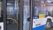 НА КОСЪМ! Без пострадали след катастрофа между автобус и кола в София