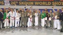 Националите на Шотокан карате-до с 10 медала от Световното първенство в Молдова (СНИМКИ)