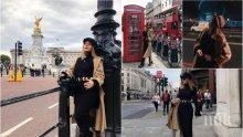 СБЪДНАТА МЕЧТА! Есил Дюран посети Кралската опера в Лондон (СНИМКИ)