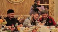 Рамзан Кадиров подари Мерцедес на Хабиб Нурмагомедов! Посрещат шампиона с почести в Чечня