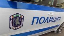 ПЪРВО В ПИК! Огромно задръстване след меле между полицейски бус и миниван