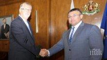 Маринов благодари на Германия за съдействието при задържането на Северин