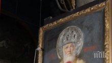 Икона от Мърквичка тъне в забрава