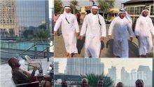 САМО В ПИК! Динко се прослави и в Дубай - ловецът на бежанци си домъкна джанти от емирството (СНИМКИ)