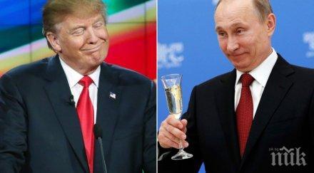 СТРАШЕН СКАНДАЛ! Тръмп запали нова война с Кремъл! Президентът на САЩ шокира: Путин вероятно е замесен в поръчкови убийства