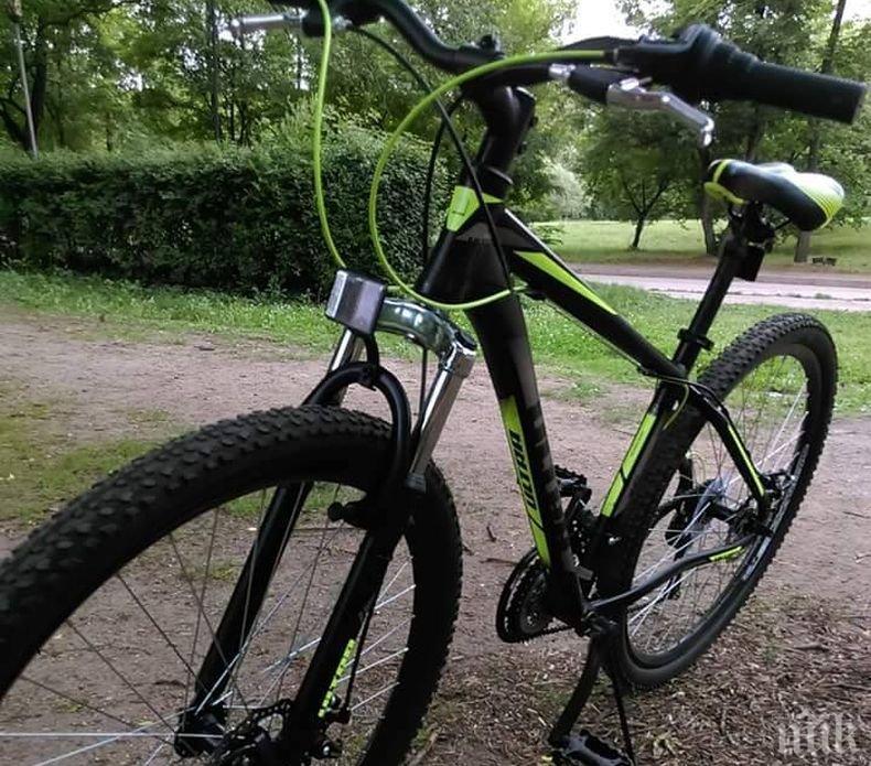 Като на филм! Нагъл крадец отмъкна колело от центъра на София, но сега е на път да си плати много скъпо