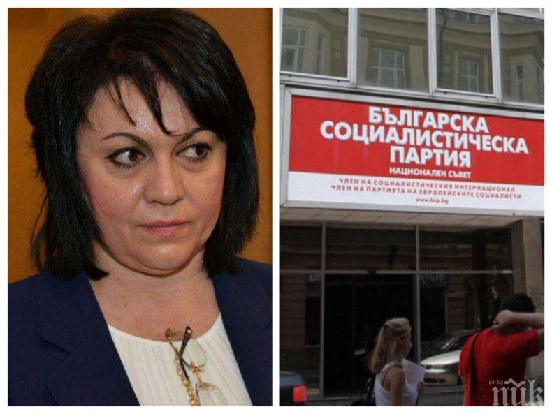 ПЪРВО В ПИК! Социалистите са взривени - Нинова се провали на изборите в още 3 общини, БСП събира едва 5% от гласовете