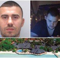 ГОРЕЩИ СЛЕДИ: Бирмата и Стайков-младши се крият на Малдивите