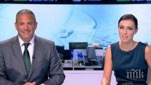 Юксел Кадриев и Виктория Петрова се скъсаха да хихикат в ефир