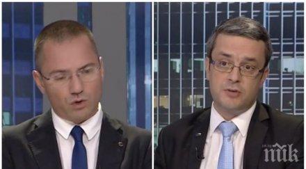 ГОРЕЩА ТЕМА: Тома Биков и Ангел Джамбазки защитиха Валери Симеонов: Той е искал да каже съвсем друго нещо, Нинова не може да е морален стожер