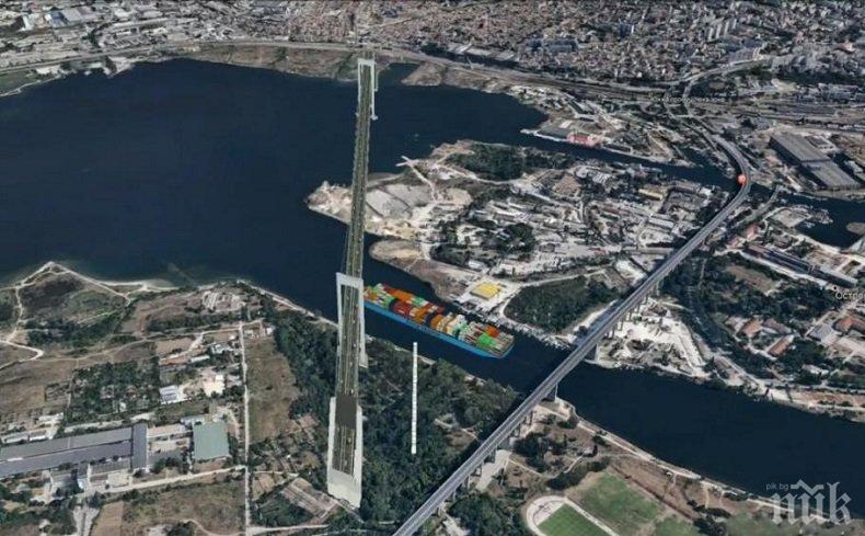 Строят втори Аспарухов мост до 2025 година