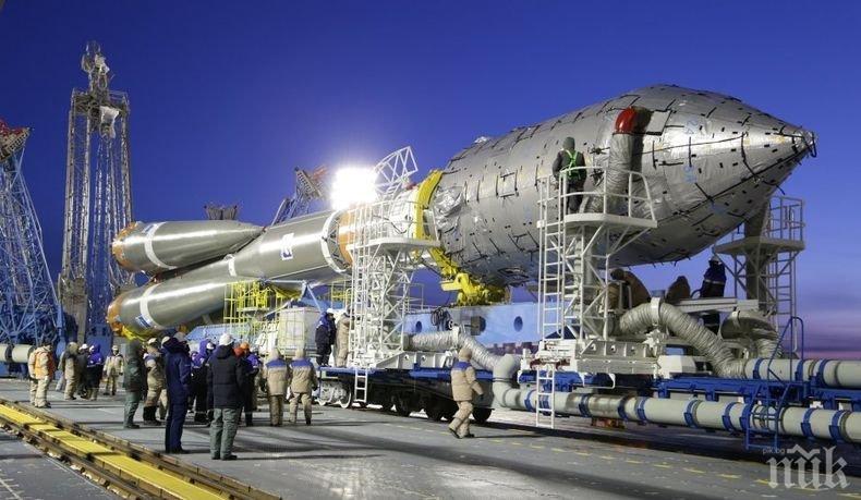 """Стана ясна причината за неуспешното извеждане на пилотирания космически кораб  """"Союз МС-10"""""""