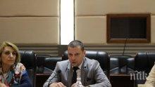 Илиан Тодоров се срещна с ректора на Университет Хубей – гр. Ухан (СНИМКИ)