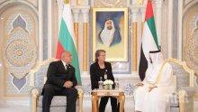 ПЪРВО В ПИК! Борисов се срещна с шейха на ОАЕ престолонаследник на емирство Абу Даби (ВИДЕО)