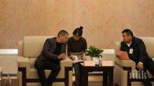 Илиан Тодоров се срещна с директора на държавната китайска компания за ЖП превози на стоки