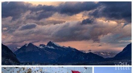 ОПАСНО ВРЕМЕ: Силен вятър и кучи студ превземат страната