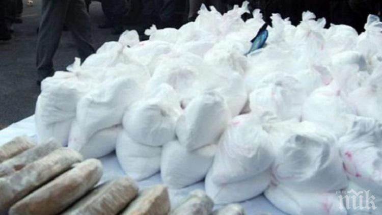 Арестуваха българин на кораб с 1400 кг кокаин
