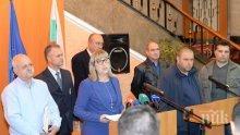 Министър Цачева договаря бюджета на министерство си със синдикати
