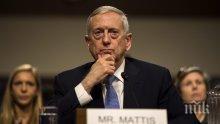Джеймс Матис е разрешил разполагането на военни по границата с Мексико