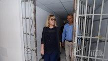 Надзирателите в затворите започват нови преговори с Цецка Цачева