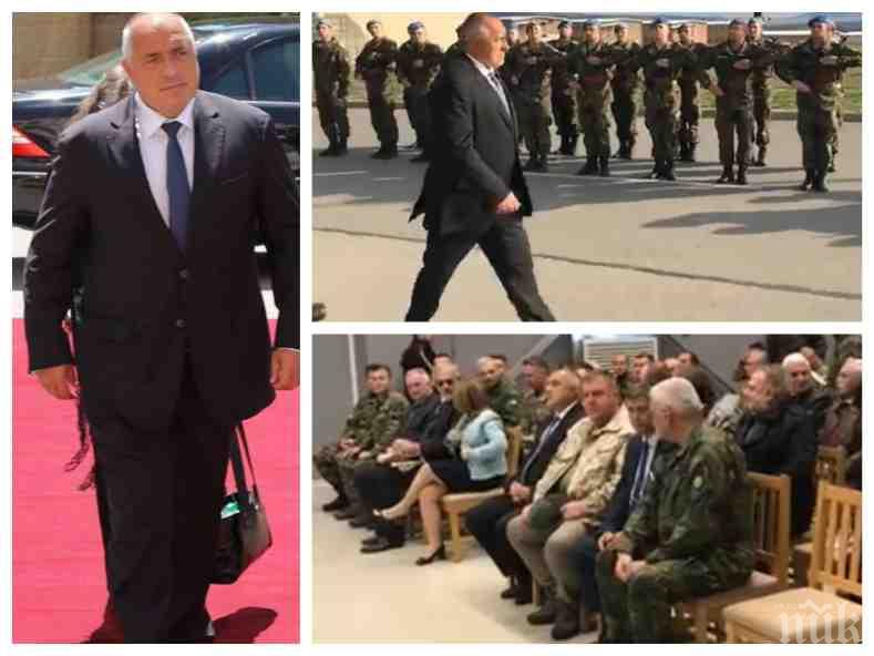 ИЗВЪНРЕДНО В ПИК TV! Премиерът Бойко Борисов прие строя на спецсилите на военно учение в Ново село. Демонстрират обезвреждане на терористични лидери (ОБНОВЕНА)