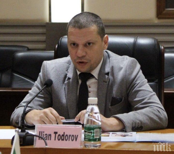 Илиан Тодоров кани на българо-азербайджански форум фирми от Софийска област