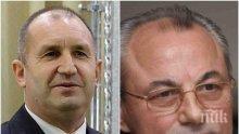 ДПС извива ръцете на Борисов да уволни Симеонов. Причината е в охраната на Доган. Г-н президент, топката е у вас