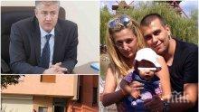 """ПЪРВО В ПИК: Проф. Балтов проговори за състоянието на убиеца Викторио - ето какво се случва с него в """"Пирогов"""" и как се е застрелял след убийството на жена му Дарина и дъщеря му Никол"""
