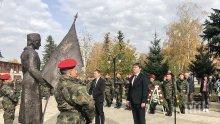 В Деня на Будителите Илиан Тодоров откри паметник на опълченците в Самоков