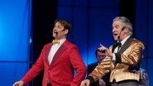 Орлин Горанов и Мариан Бачев ще пеят под дъжда в Музикалния театър (СНИМКИ)