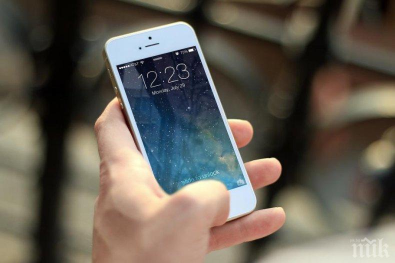 Продажбата на смартфони спадна с 6%