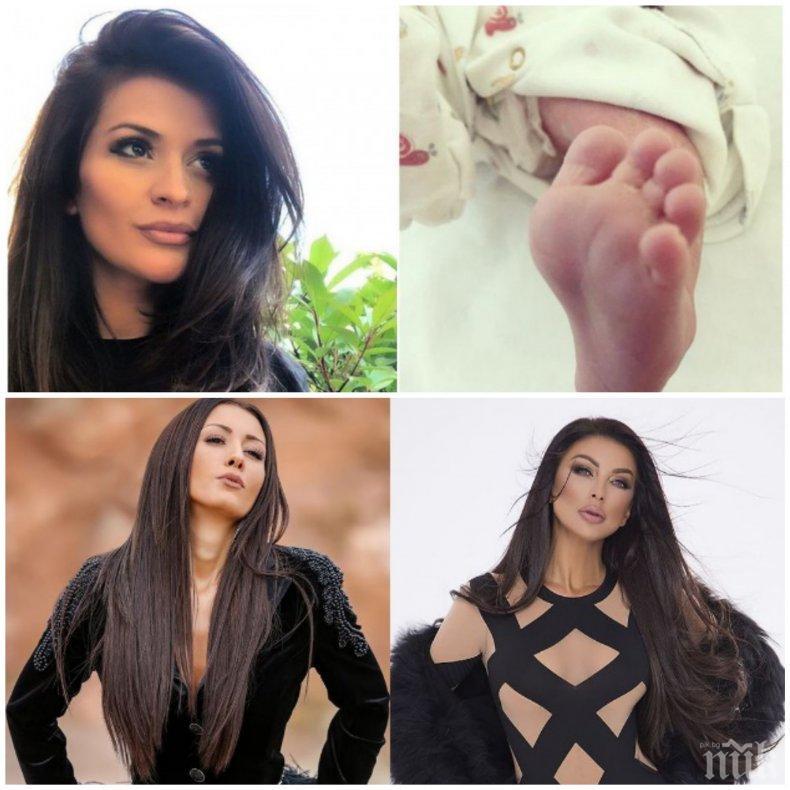 ВИП ГОСТИ: Емануела и Джена орисаха бебето на Преслава