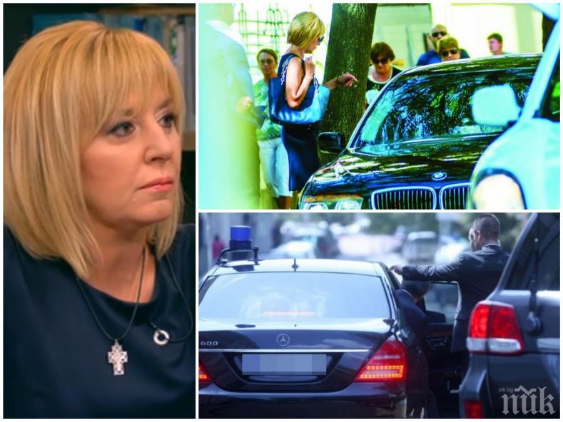 ЖИВА ДА Я ОЖАЛИШ: Манолова нямала пари за кола и шофьор, отнемането на НСО и скъпата лимузина било саботаж
